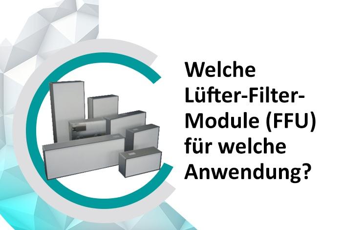 Lüfter-Filter-Module FFU