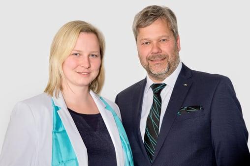 Ina Henze-Ludwig and Joachim Ludwig